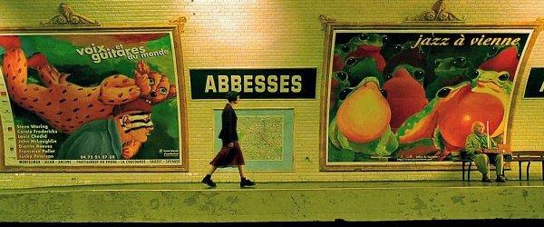 Abbesse(アベス駅)