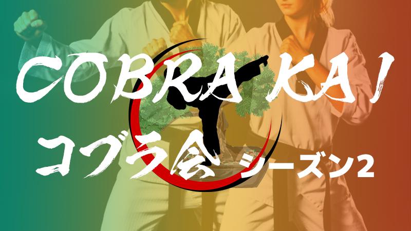 【海外ドラマ】おすすめ「コブラ会 Cobra Kai」シーズン2のネタバレ有あらすじ・キャスト・感想・評価・レビューなど徹底解説