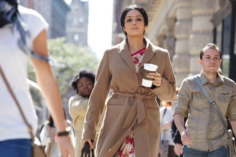 ベテラン女優、シュリデヴィ・カプールが演じるシャシ