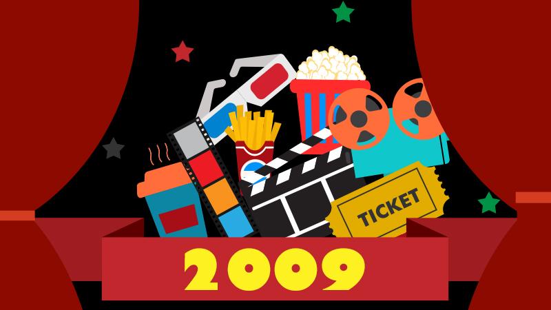 【2009年の映画】全世界年間興行収入・日本の洋画年間興行収入ランキング