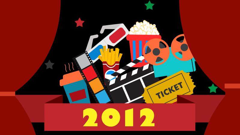 【2012年の映画】全世界年間興行収入・日本の洋画年間興行収入ランキング