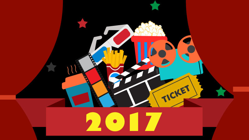 【2017年の映画】全世界年間興行収入・日本の洋画年間興行収入ランキング